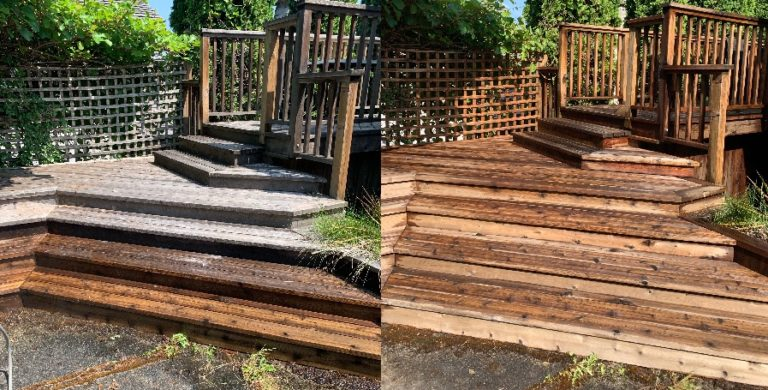 deck cleaning nanaimo