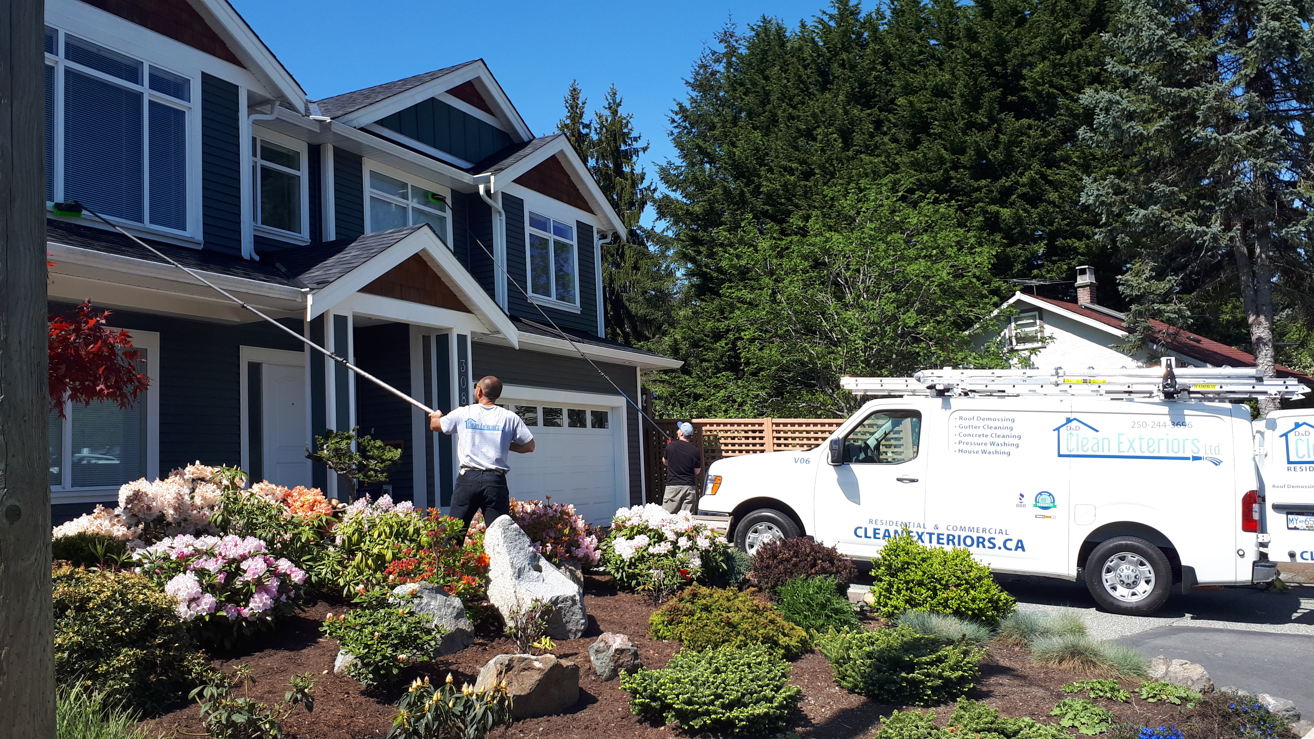 Nanaimo Pressure Washing Exterior House Cleaning